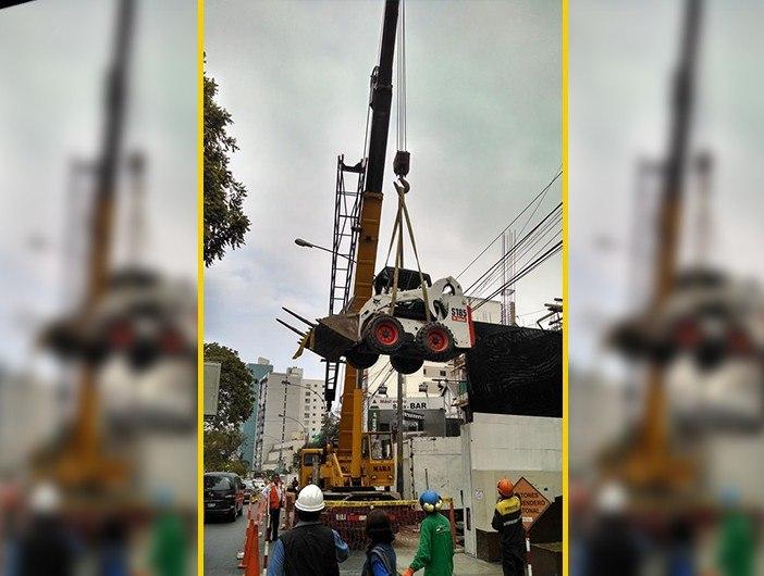 elevación bob cat grove 50 tons
